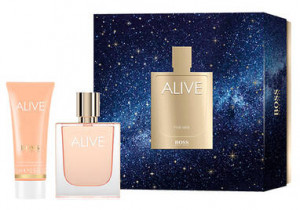 HUGO BOSS ALIVE EDP 50ML + BALSAM 75ML