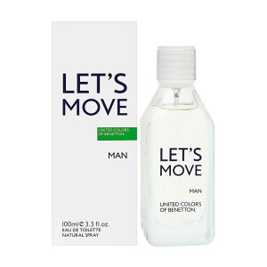 BENETTON LET'S MOVE EDT 40ML WODA TOALETOWA