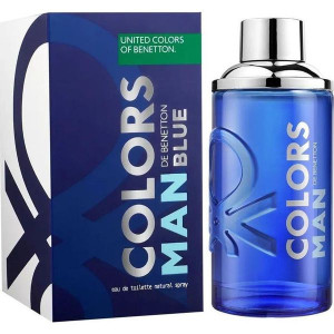 BENETTON COLORS DE BENETTON MAN BLUE EDT 60ML WODA TOALETOWA