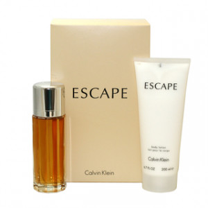 CALVIN KLEIN ESCAPE EDP 100ML + BALSAM 200ML