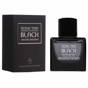 ANTONIO BANDERAS SEDUCTION IN BLACK EDT 100ML WODA TOALETOWA