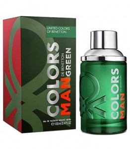 BENETTON COLORS DE BENETTON MAN GREEN EDT 60ML WODA TOALETOWA